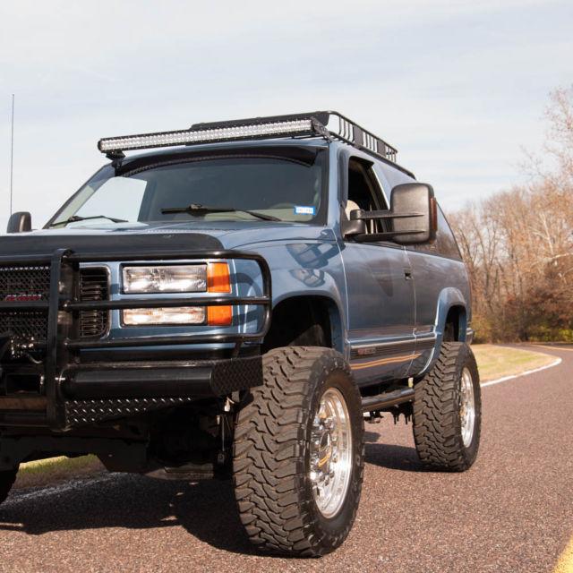 1994 Gmc Yukon 4x4 6 5 Liter Turbo Diesel Engine Cold Ac