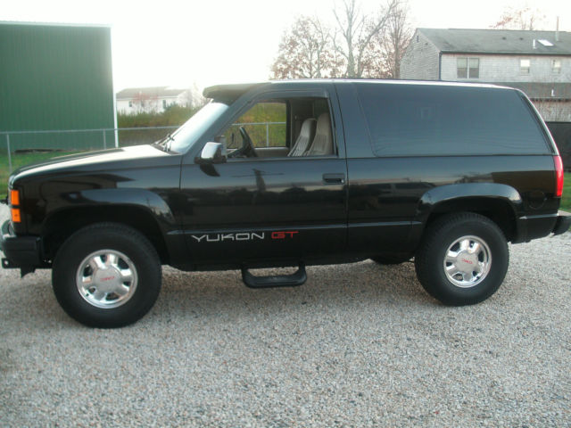 1994 Gmc Yukon Gt With Plow For Sale Photos Technical