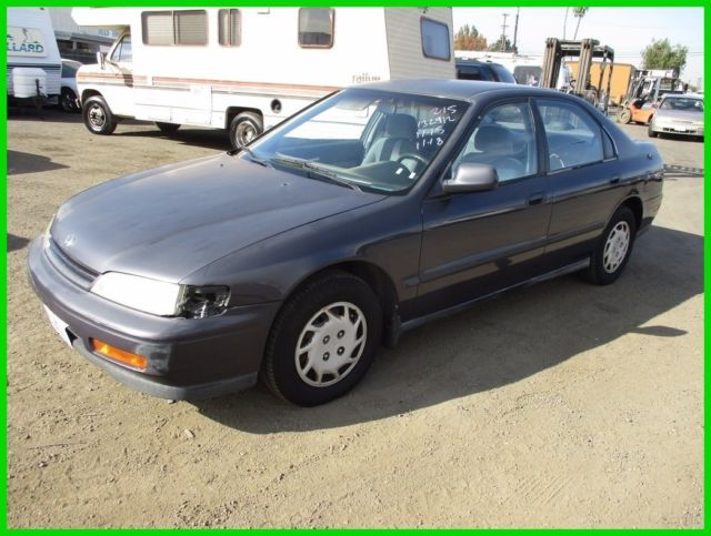 1994 honda accord dx used 2 2l i4 16v manual fwd sedan no reserve rh topclassiccarsforsale com 1994 honda accord dx owner's manual 1994 honda accord lx owners manual