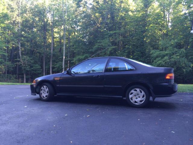 1994 Honda Civic Ex Coupe 2 Door 1 6l For Sale Photos Technical