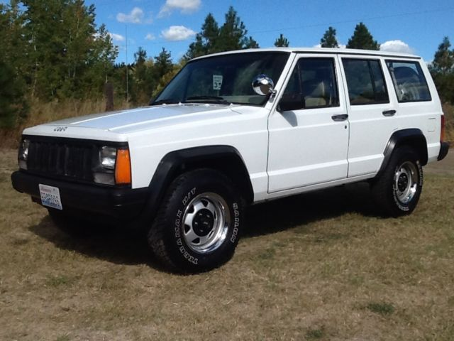 1994 Jeep Cherokee Police Package