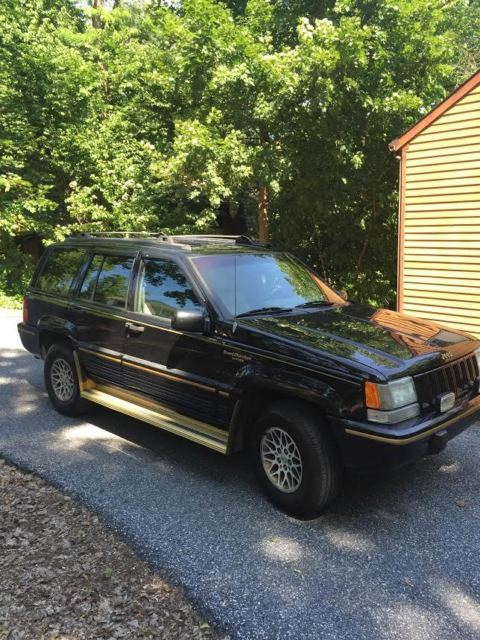 1994 jeep grand cherokee limited rare for sale photos technical specifications description. Black Bedroom Furniture Sets. Home Design Ideas