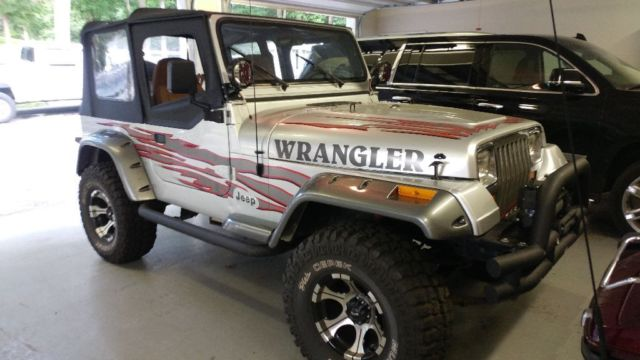 1994 Jeep Wrangler 4 0 5 Speed Big Tires Lifted Nice For Sale