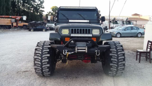 1994 Jeep Wrangler 4 0 Yj 4x4 Lifted For Sale  Photos  Technical Specifications  Description