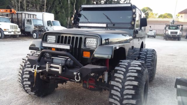 Jeep Wrangler Yj X Lifted No Reserve furthermore S L as well J Enlarged X likewise Jeep Wrangler Yj Sahara X L Inline Cylinder Hard Top Plow also . on jeep wrangler yj air conditioning