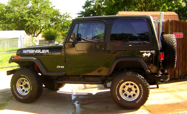 1994 Jeep Wrangler Jeep Wrangler Used 94 Manual Suv 4 Cylinderhard Toplow Mile