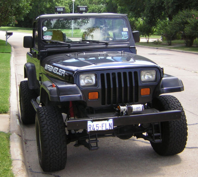 1994 Jeep Wrangler Jeep Wrangler Used 94 Manual SUV 4