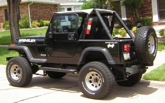 1994 jeep wrangler jeep wrangler used 94 manual suv 4 cylinder hard top low mile for sale. Black Bedroom Furniture Sets. Home Design Ideas