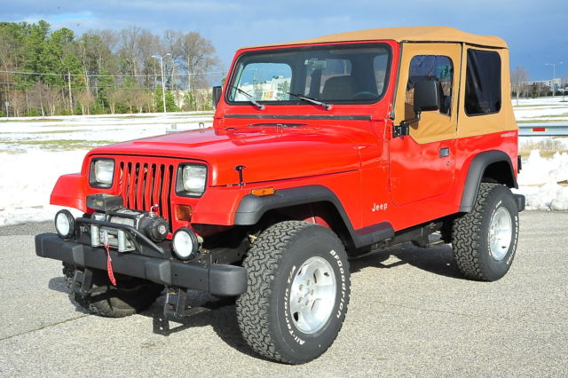 1994 Jeep Wrangler Yj    128k    Manual    New Top    Bfgs    Tj Upgrades    Nice Jeep For Sale