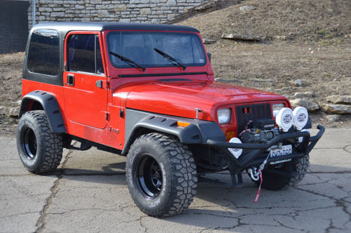 1994 jeep wrangler yj chevy 350 engine automatic turbo 350 4wd 4x4 with winch for sale photos. Black Bedroom Furniture Sets. Home Design Ideas