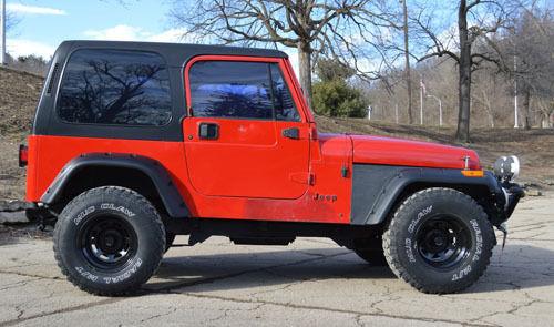 1994 Jeep Wrangler Yj Chevy 350 Engine Automatic Turbo 350