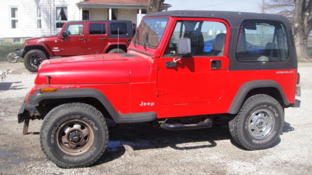 1994 Jeep Wrangler YJ Damaged Repairable Parts Salvage Fixable