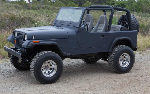 1994 Jeep Wrangler Yj Se 4 0l 8 8 Rear