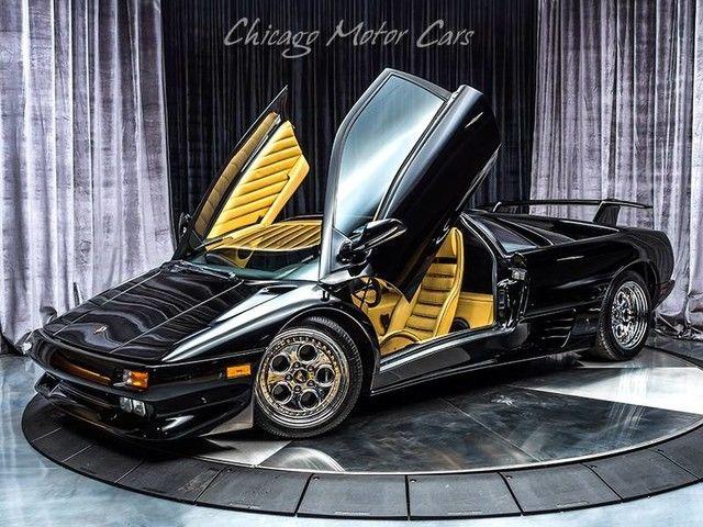1994 Lamborghini Diablo Vt Coupe Nero Osyris For Sale Photos