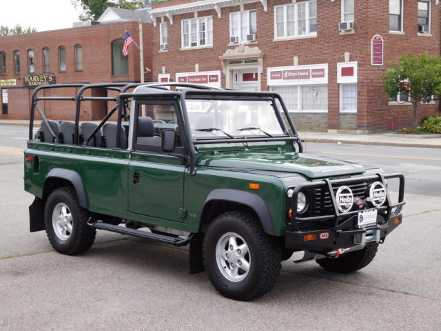 1994 land rover defender 110 convertible for sale photos technical specifications description. Black Bedroom Furniture Sets. Home Design Ideas