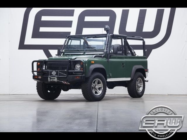 1994 land rover defender 90 2dr convertible 46720 miles green 3 9l rh topclassiccarsforsale com Defender Rover Land Worksv8 Carpet Land Rover Defender