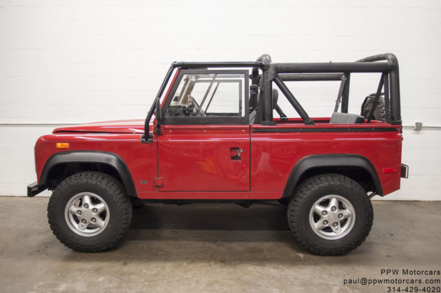 1994 Land Rover Defender Convertible