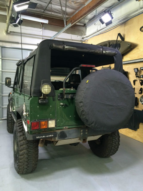 1994 LAND ROVER N.A.S. DEFENDER 90 SOFT TOP #1398 1 OWNER ...