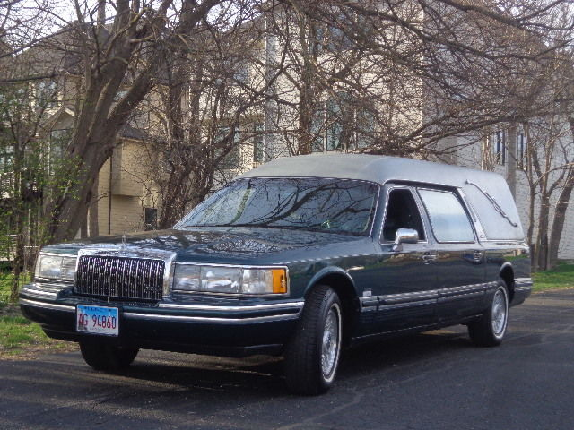 1994 Lincoln Town Car Hearse For Sale Photos Technical