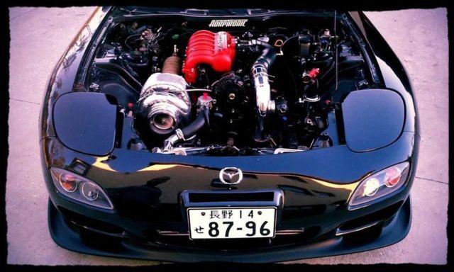 1994 Mazda RX7 FD3S 3 Rotor 20b Single Turbo 800hp for sale
