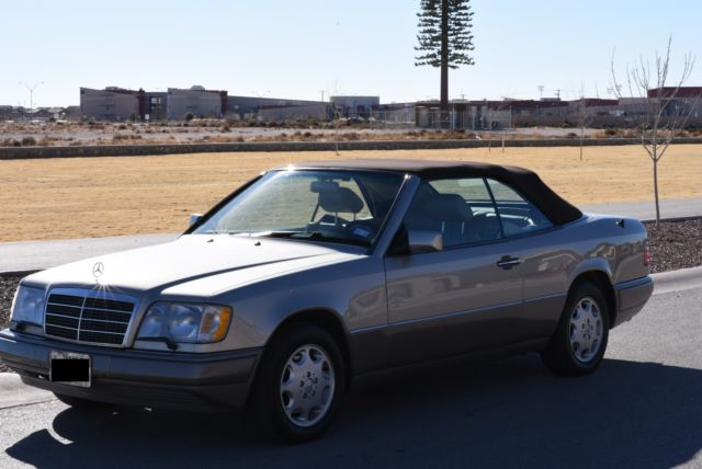1994 Mercedes-Benz E-Class Base Convertible 2-Door
