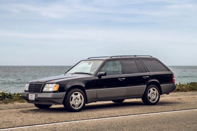 1994 mercedes benz e320 wagon w124 black 32d row seat low miles for sale photos technical specifications description topclassiccarsforsale com