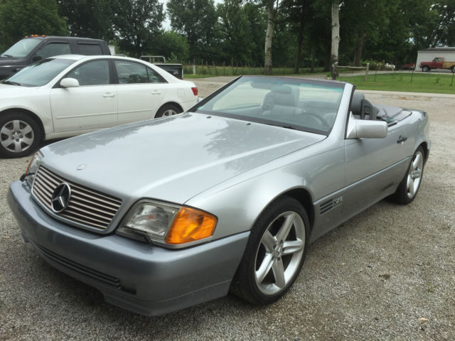 1994 mercedes sl600 roadster soft top convertible. Black Bedroom Furniture Sets. Home Design Ideas