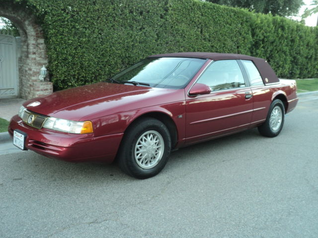 1994 mercury cougar xr7 absolutely one of a kind 25 349 verified low miles nice for sale photos technical specifications description topclassiccarsforsale com