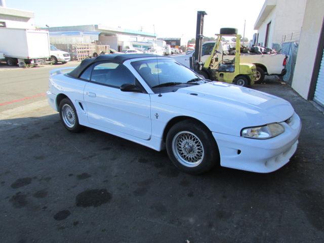 1994 Ford Mustang VORTECH SUPERCHARGED 1994 CONVERTIBLE MUSTANG