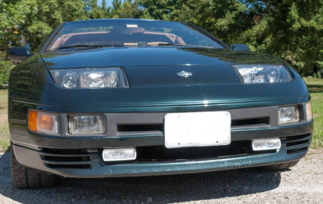 Twin Falls Nissan twin turbo coupe 3 0l emerald black in family since 1996 for sale