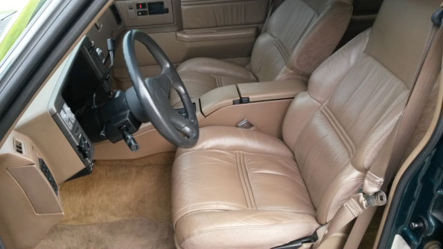 1994 oldsmobile bravada interior