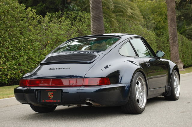 1994 porsche 911 964 carrera 4 61k miles m491 coa factory turbo look 1 of 254 for sale photos. Black Bedroom Furniture Sets. Home Design Ideas