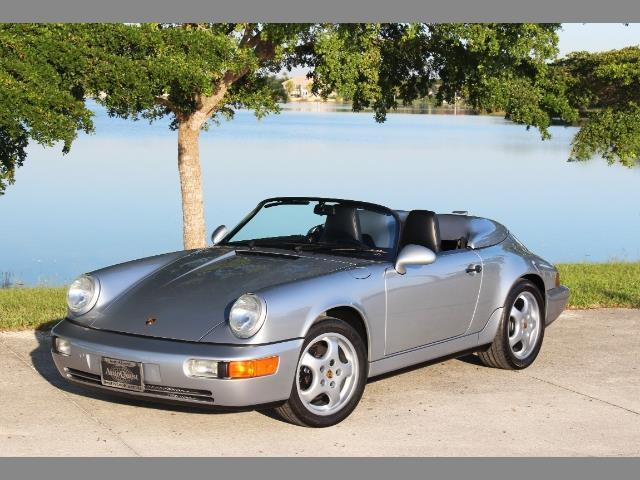 1994 Porsche 911 Speedster Convertible 2-Door