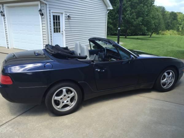 1994 Porsche 968 Blue Convertible 2 Door 30l 6 Speed 33082