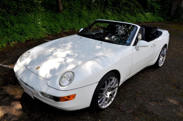 1994 Porsche 968 Cabriolet 6 Speed Grand Prix White For Sale Photos