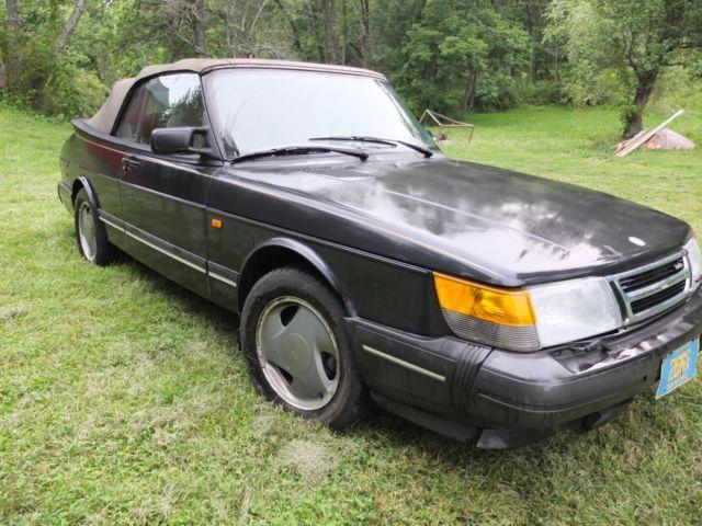 1994 Saab 900 Turbo Commemorative Edition Convertible 2 Door 0l