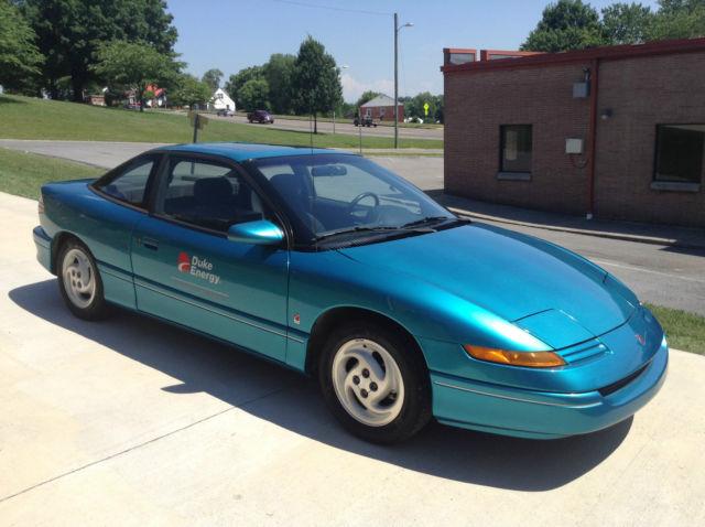 1994 Saturn Sc2 Electric Car Only 2 800 Original Miles Excellent Condition