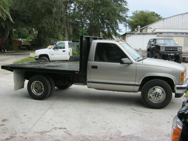 1994 Silverado 3500 Dually Flatbed Flat Bed For Sale Photos