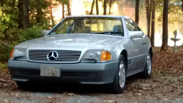 1994 Mercedes-Benz SL-Class two tops