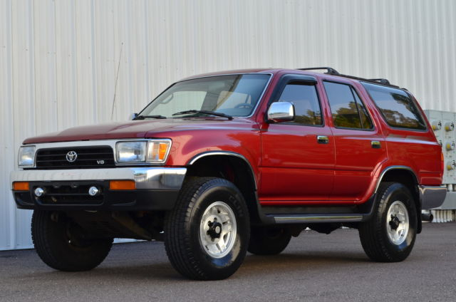 1994 toyota 4runner sr5 4x4 manual 5 speed hilux surf tacoma trd low rh topclassiccarsforsale com Surf Vehicle toyota hilux surf 1992 manual