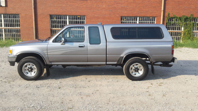 Toyota Tacoma Topper For Sale >> 1994 Toyota Sr5 4wd Tacoma Hilux With Matching Camper Topper For