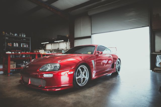 1994 Toyota Supra Mkiv Twin Turbo Trd Widebody For Sale