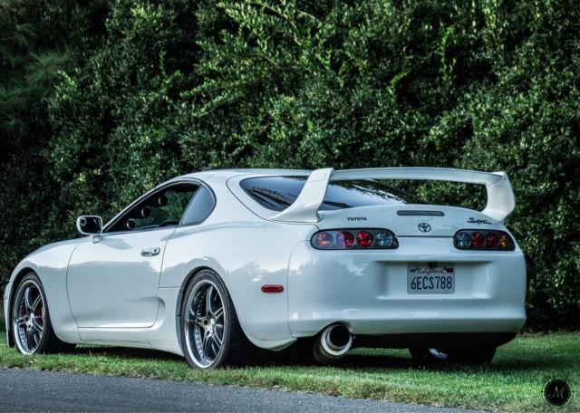 1994 Toyota Supra Twin Turbo Auto 185xxx Miles Hatchback 2-Door & Supra 2 Doors \u0026 SupraStore Door Speaker Surround Brackets 93-02 ... Pezcame.Com