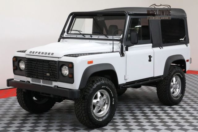 1994 Land Rover Defender OVER THE TOP BUILD LS CONVERSION! AUTO