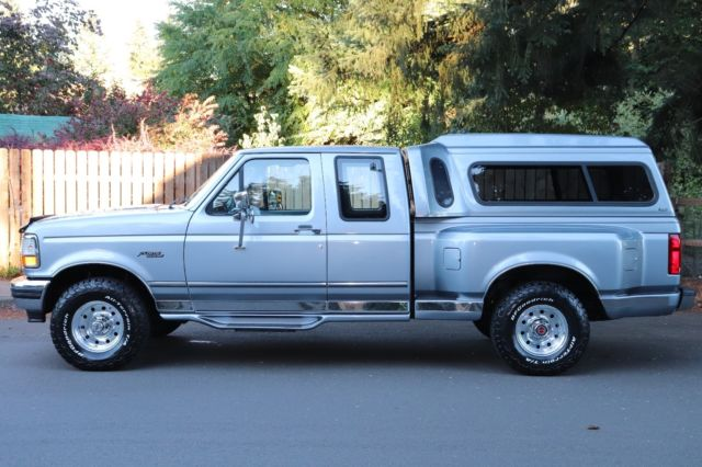1995 Ford F150 Flareside Extended Cab 4x4 Xlt Low Miles Obs
