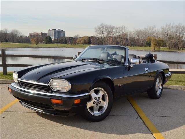 1995 Jaguar XJS leather