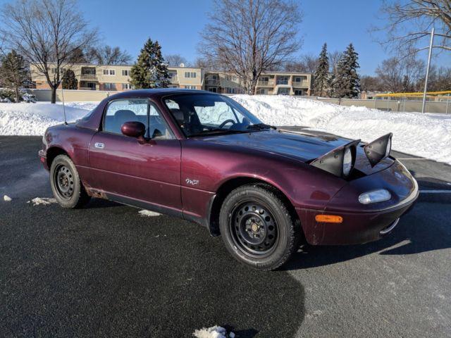1995 Mazda MX-5 Miata M Ediiton With Hardtop for sale