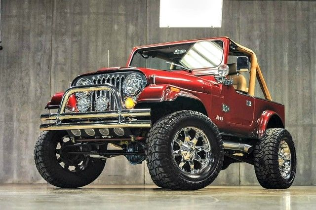 1988 Jeep Wrangler Custom