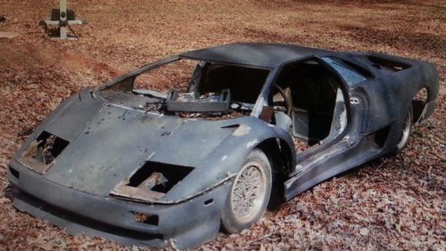 1999 Lamborghini Diablo Sv Replica Car Naerc Body Kit Car Getrag On