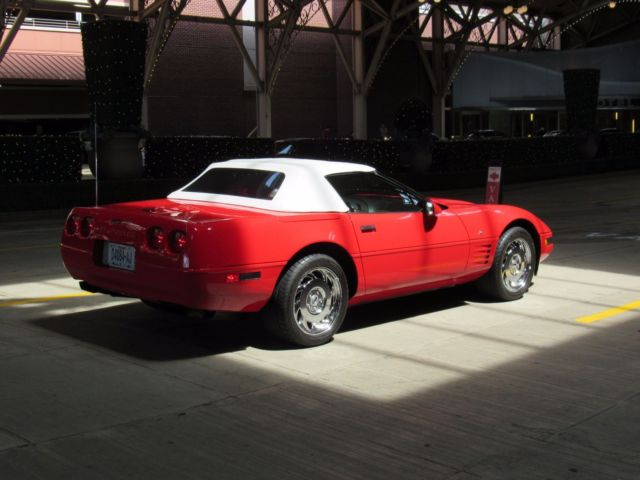 1993 Chevrolet Corvette 40th Leather Seats